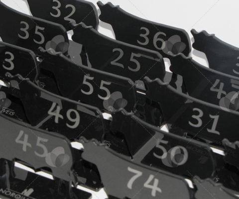 Displays Marcadores de Mesa em Acrílico