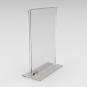 Display de mesa T invertido