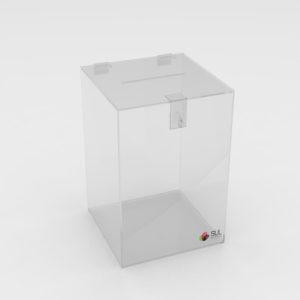 Urna de Acrílico modelo Cubo