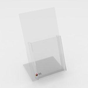 Display de mesa porta folder