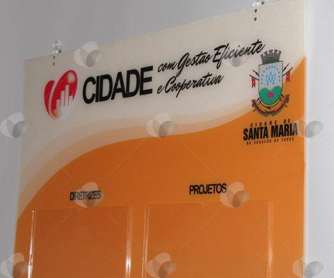 Mural em Acrílico