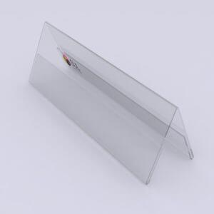 Display de mesa prisma em acrílico
