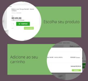 Banner com instruções de como comprar acrílico na loja virtual Sul Acrílicos Express