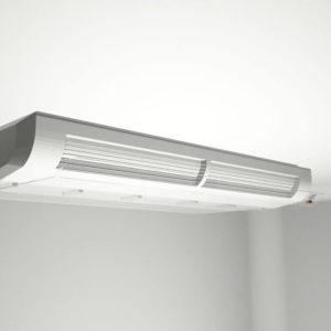 Defletor para ar condicionado piso técnico em acrílico