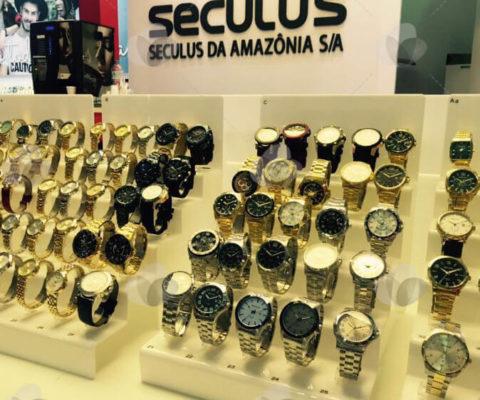 Expositor para Relógios em Acrílico