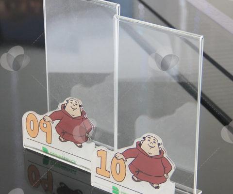 Display e Porta Guardanapos em Acrílico Personalizado