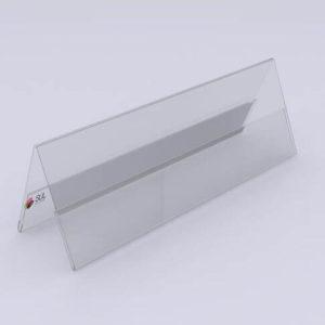 Display de prisma em acrílico