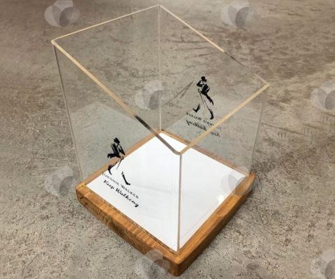 Caixa Expositora em Acrílico Cristal
