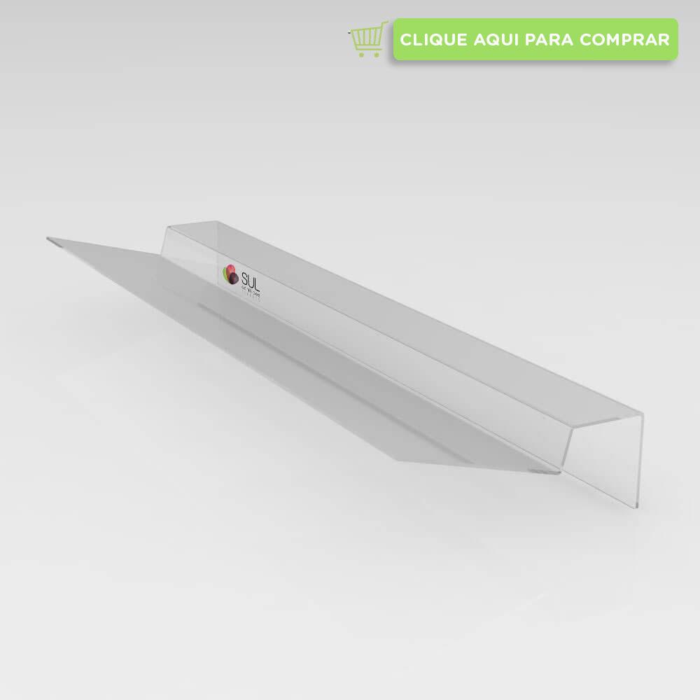 Defletor em acrílico para condicionadores de ar