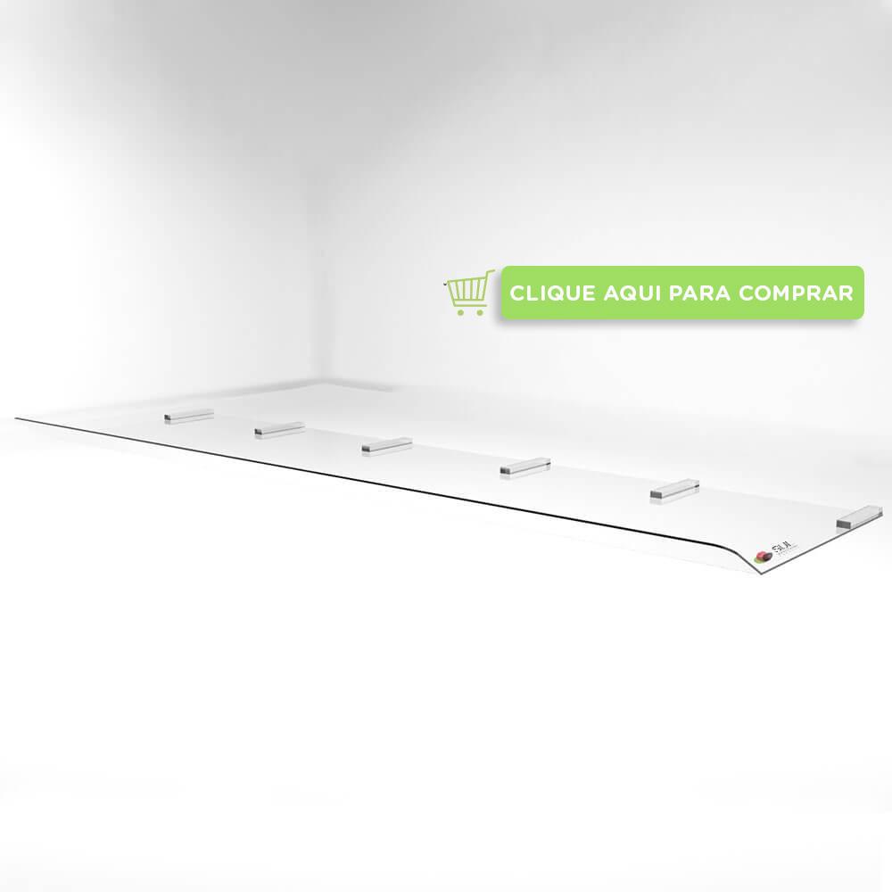 Defletor para ar condicionado piso teto de 48000 a 6000 BTUS