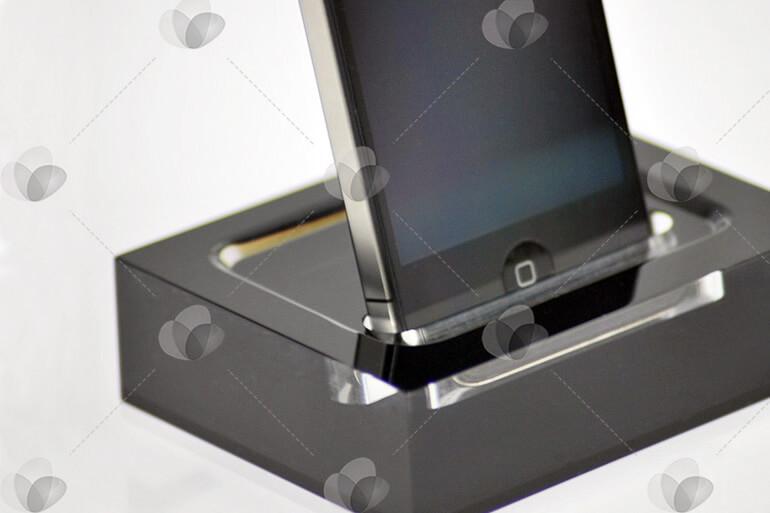 Expositor para celulares ou tablets em acrílico