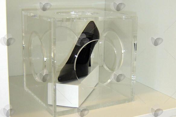 Cubo Expositor para Sapatos