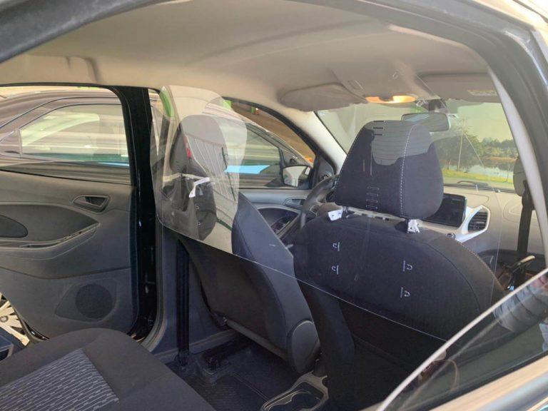 Barreira de Proteção para Carros